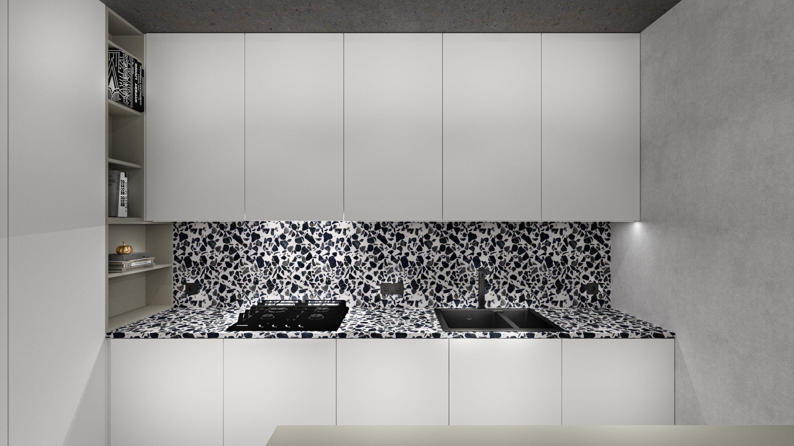 navrh dizajn obyvacky kuchyne luxusny moderny